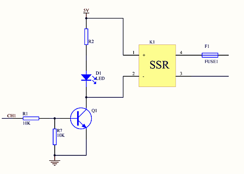 please see this about precautions for using solid state relays