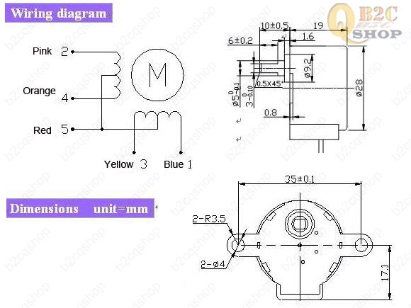 SmallStepperDiagram 5v stepper motor 4 wire stepper motor diagram at soozxer.org