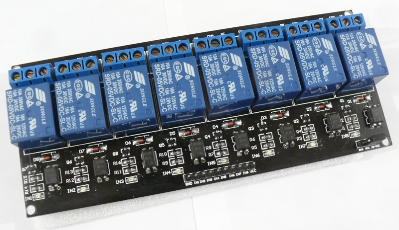 8 way relay board