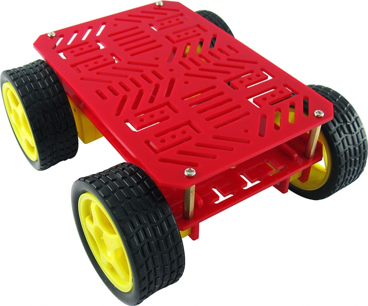 how to create a 4wd skid steer robot arduino