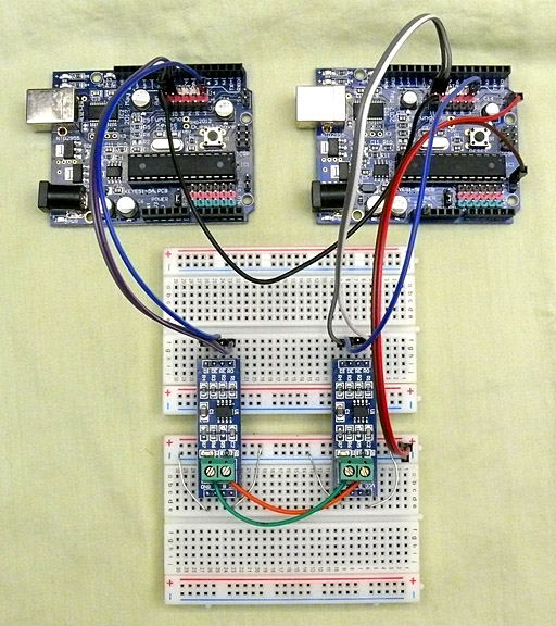RS-485 module for Arduino (MAX485 )